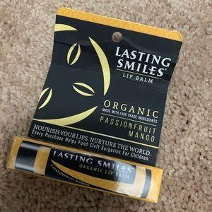 NWT organic lip balm